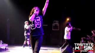 OCD: Moosh & Twist Perform Live at the TLA (5-22-14) #LivingOutLoudTour