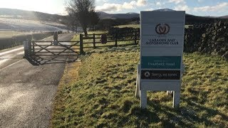 Our winter weekend break at Troutbeck Head CAMC