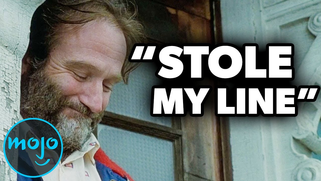 Download Top 10 Unscripted Robin Williams Moments That Were Left in the Movie