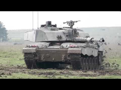 British Ministry Of Defence   British Army Live Firing Exercise 2015 1080p