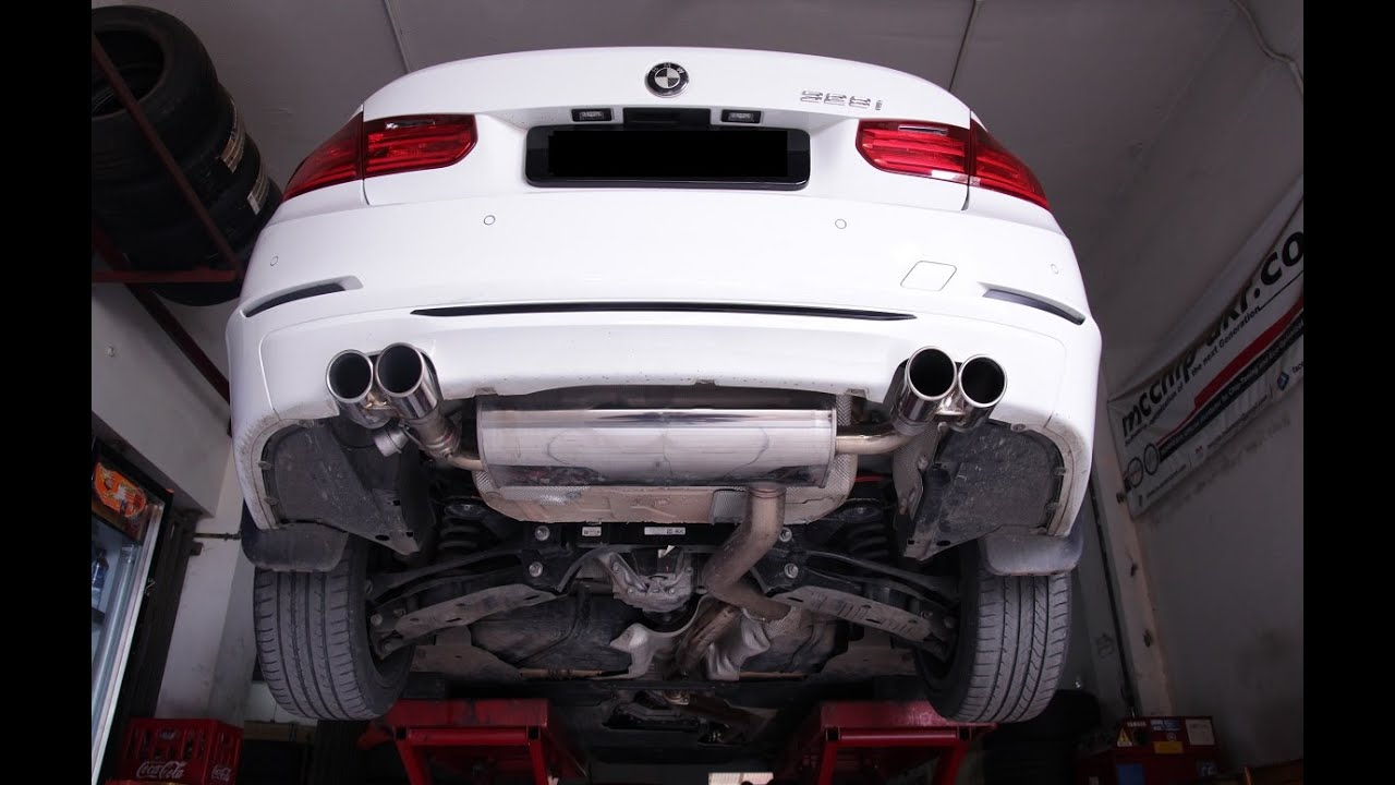 Bmw F30 328i 320i With Armytrix Exhaust Speed Buster