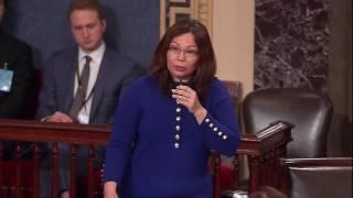 senator duckworth explains her vote against betsy devos nomination to be secretary of education