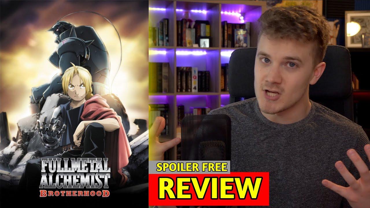 Fullmetal Alchemist: Brotherhood - REVIEW - YouTube