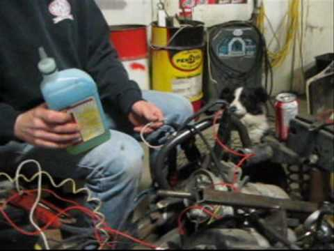 starting of the 1977 amf harley davidson golf cart - YouTube on