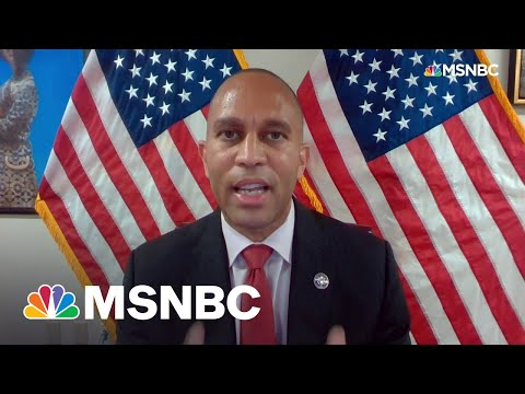 Rep. Hakeem Jeffries Recounts Jan. 6 Moment When The 'Jackets Came Off'