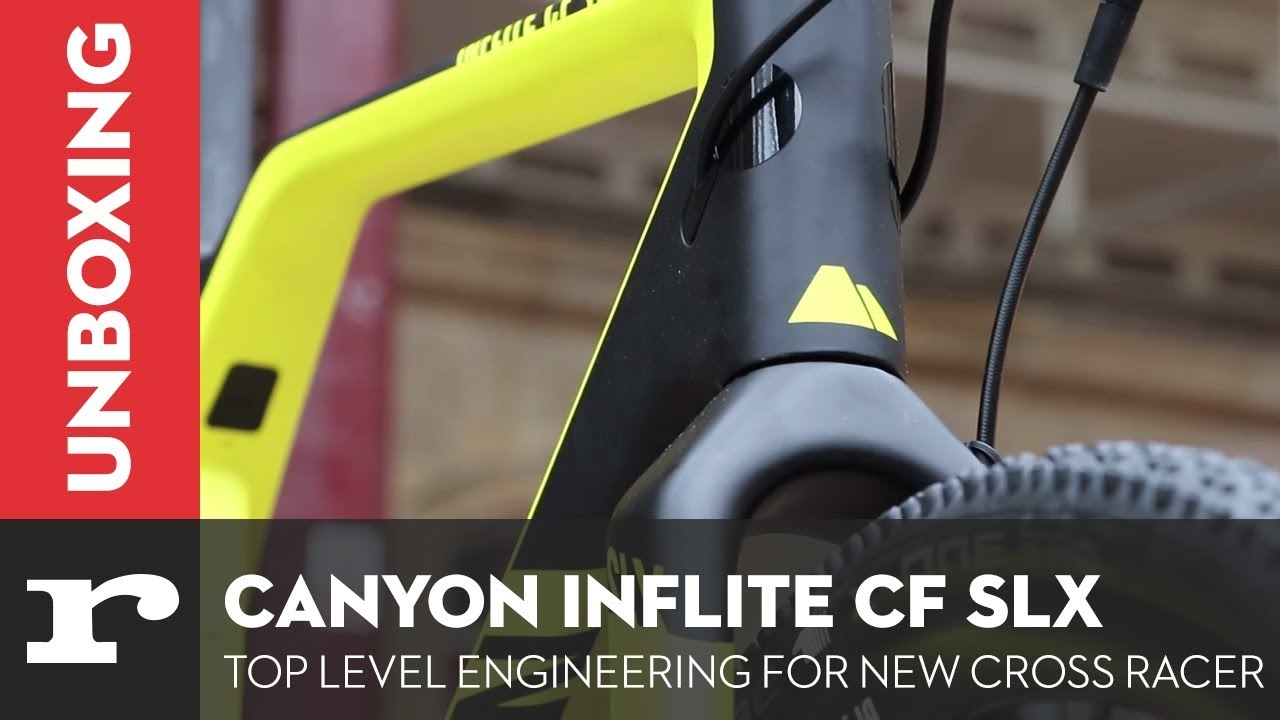Canyon Inflite CF SLX - Top level engineering for new cross racer