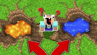 WHY YOU NEVER DIG DOWN IN MINECRAFT!