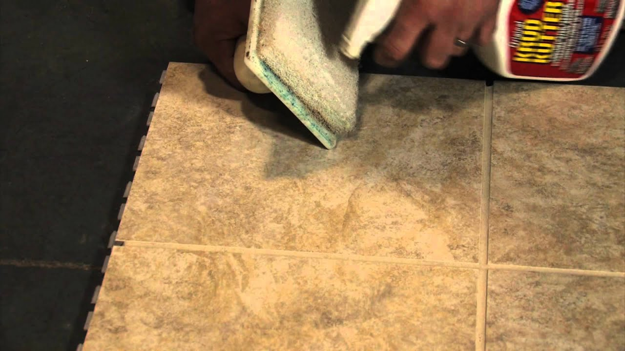 how to clean grout haze off tile
