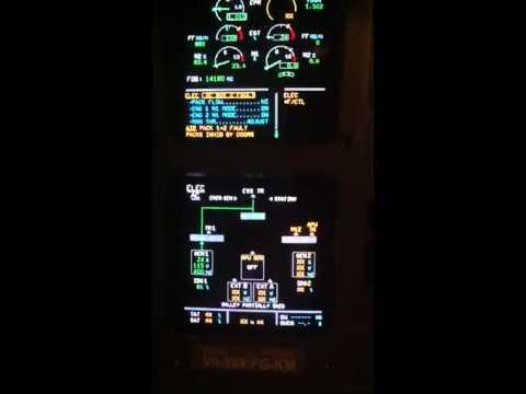 a330 dc buss fault youtube