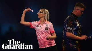'Us women, we can play darts': Fallon Sherrock on historic PDC win over Evetts