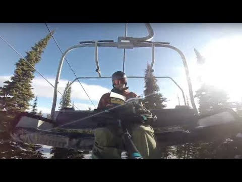Download Youtube: GoPro: Snowboard Morning Routine In My Backyard