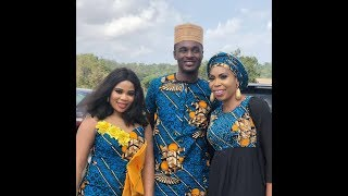 K1 Spray Adeniyi Johnson39s Wife Seyi Edun As Nollywood stars support Afeez Owo as he buries mum