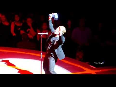 U2 Bullet the Blue Sky FANTASTIC VERSION in 4K  United Center Chicago June 28th, 2015