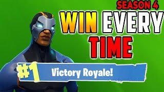 HOW TO WIN EVERY TIME (Easy) Fortnite Battle Royale Tips Season 4 - Xbox, PS4, PC
