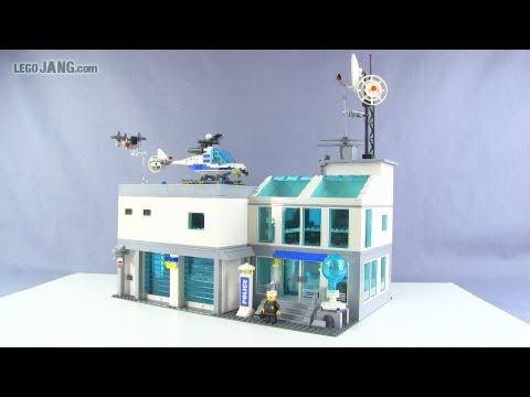 LEGO police station custom MOC
