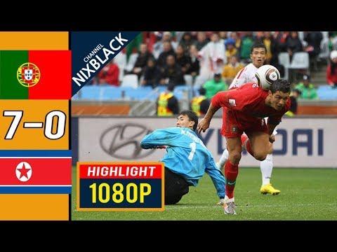 🔥 Португалия - КНДР 7-0 - Обзор Матча Чемпионата Мира 21/06/2010 HD 🔥
