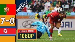 Португалия КНДР 7 0 Обзор Матча Чемпионата Мира 21 06 2010 HD