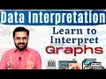 Data Interpretation - 1 (Graphical Data) - Learn to interpret graphs