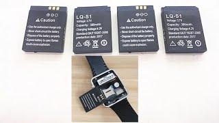 Аккумулятор для смарт часов dz09 Battery for smart watch dz09