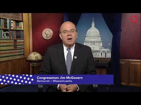 Congressman Jim McGovern (D-MA)   Global Citizen Festival NYC 2017
