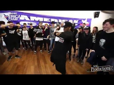 Taiwan Williams | Missy Elliott - Get Ur Freak On | AMERICAN CAMP 2016 ROME #PJD #mmpp