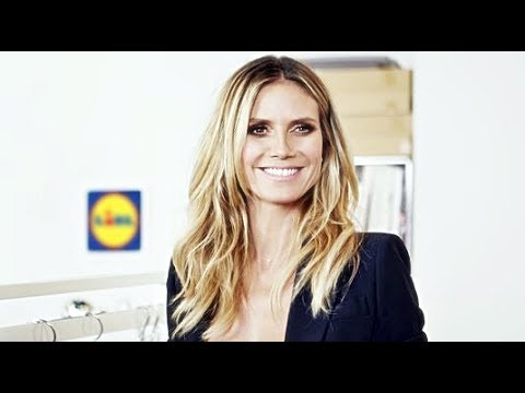 Heidi Klum to design fashion for supermarket
