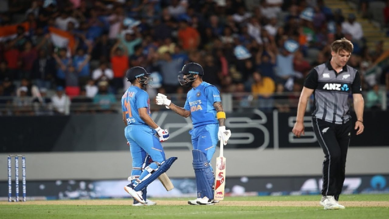 NZ vs Ind, 2nd T20I, Highlights: India wins by seven wickets, leads ...