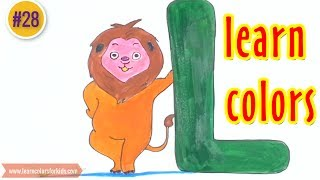 Letter of the Week A Z Series - Learn Alphabet L is for Lion #…