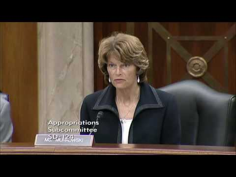 Senator Murkowski Questions IHS Director on IHS Budget Prior