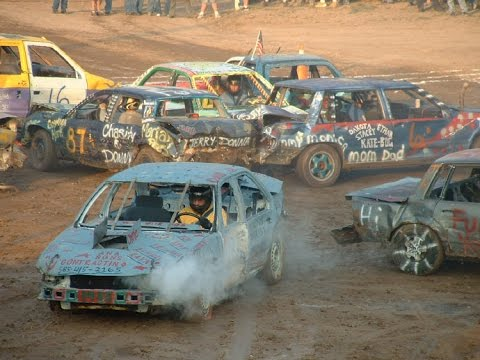 Demolition Derby, Hamilton County Fair 2014, Cincinnati, OH Part V