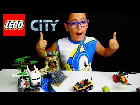 ESPLORAZIONI NELLA GIUNGLA LEGO CITY - Leo Toys