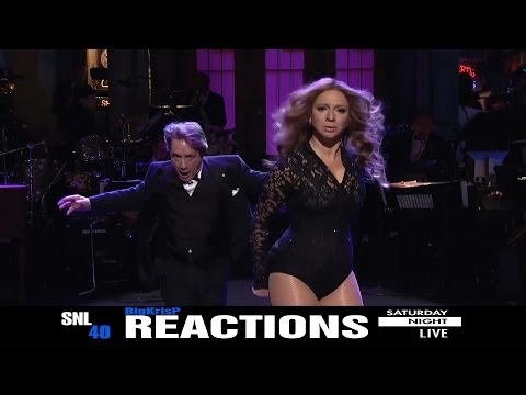 SNL 40th Anniversary Special Marty & Beyoncé ~ REACTIONS