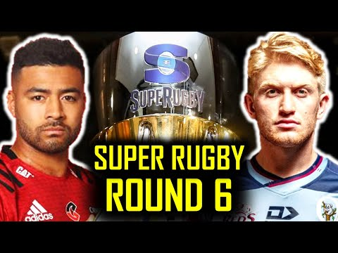 ROUND 6: FRIDAY GAMES | SUPER RUGBY 2020