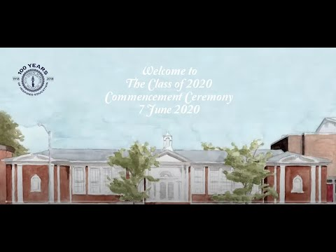 The Kew Forest School Class of 2020 Virtual Commencement