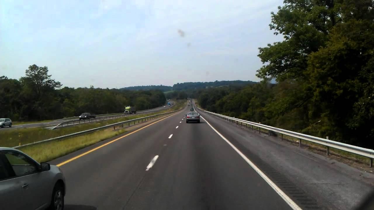 12k In Miles >> Interstate 81 in Virginia - YouTube