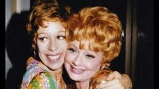 CAROL BURNETT on LUCILLE BALL — Diva on Diva