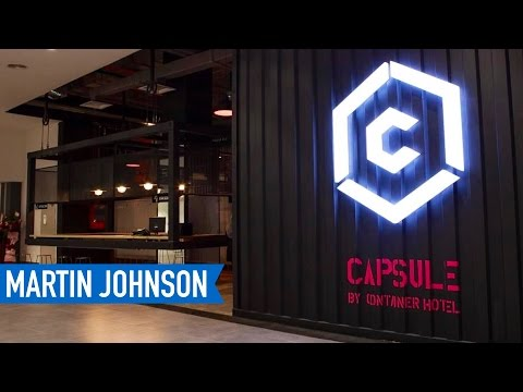 Staying at Capsule by Container Hotel in Kuala Lumpur International Airport