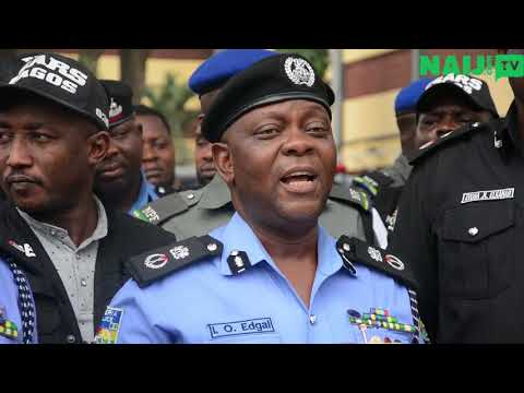 See the faces of newly arrested criminals in Lagos State