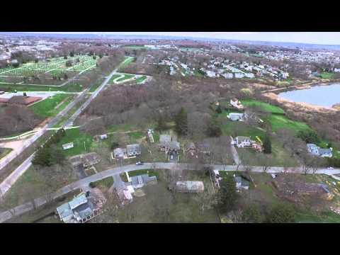 Dji Inspire 1 Drone Aerial of Colt State Park Bristol, RI