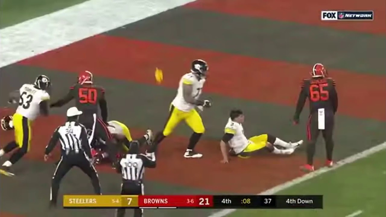 Browns Vs Steelers Fight 2019
