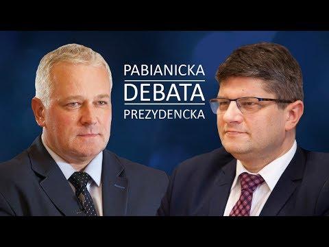 Debata kandydatów na prezydenta Pabianic 2018 - Grzegorz Mackiewicz kontra Włodzimierz Stanek