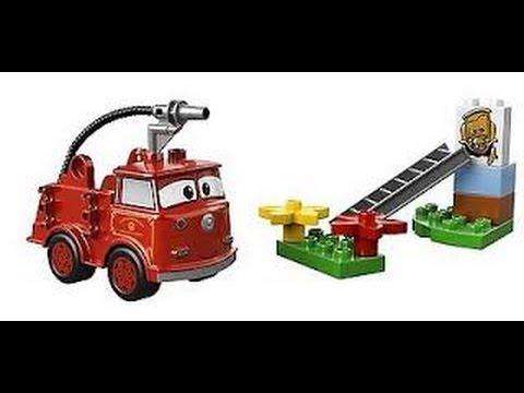 lego duplo disney pixar cars camion de pompiers jouet pour les enfants youtube. Black Bedroom Furniture Sets. Home Design Ideas