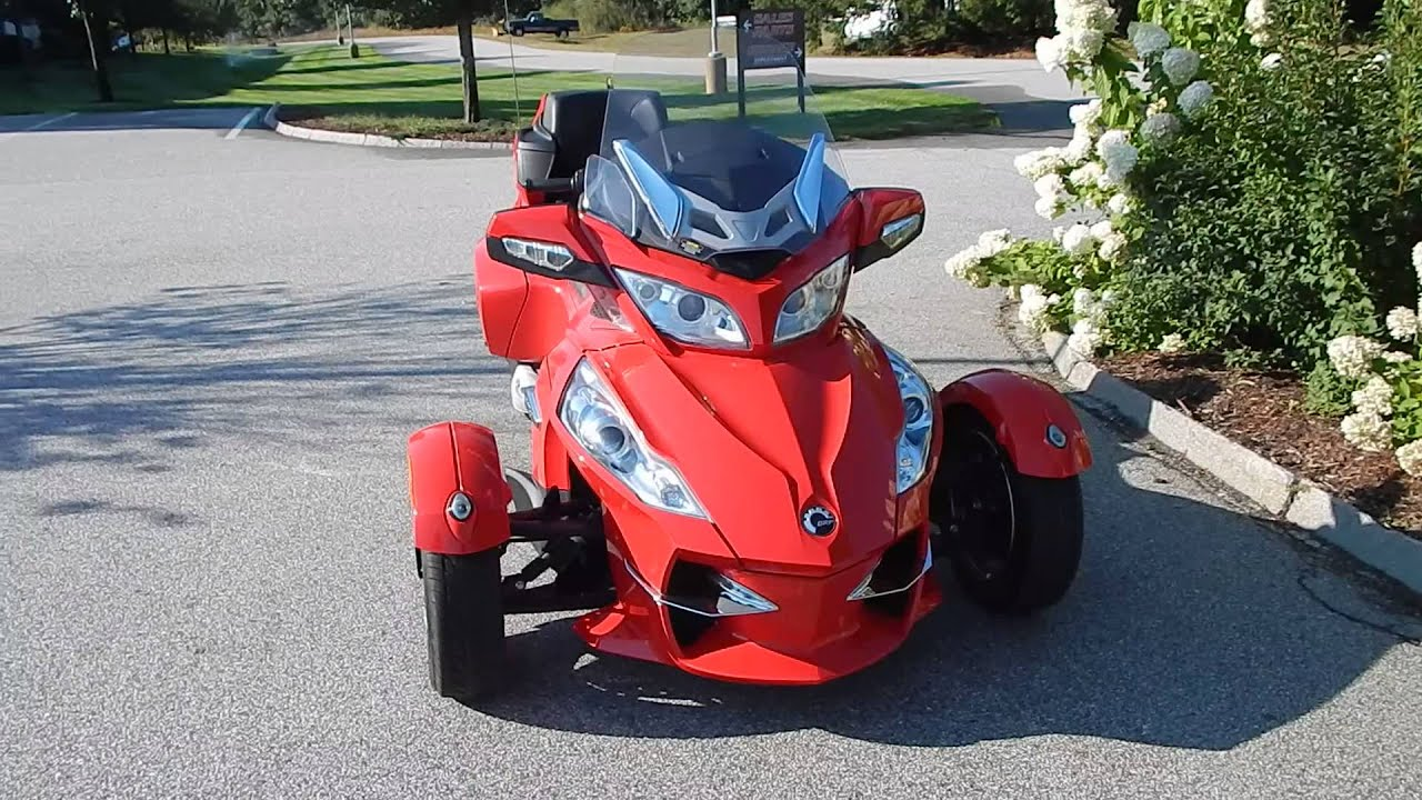 2012 can am spyder rt s se5
