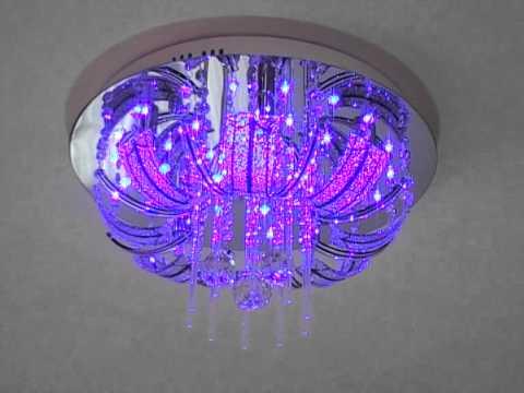 Moderne Lampen 9 : Deckenleuchte kora led farbwechsel fernbedienung & lm g 9 friesen