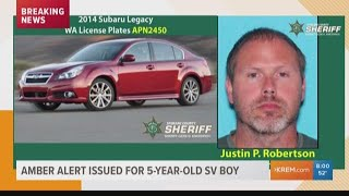 AMBER Alert issued for 5-year-old boy abducted after Spokane Valley stabbing