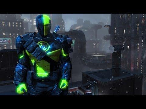 Batman Arkham Origins Sinestro Corps Deathstroke Skin Mod