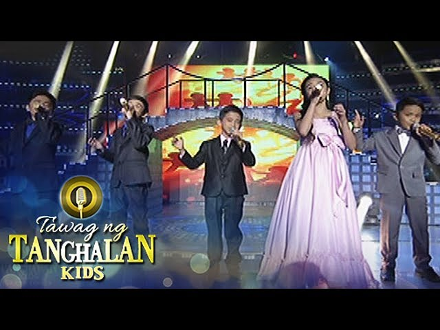 "Tawag ng Tanghalan Kids: TNT Kids Grand Finalists sing ""Stand By Me"""