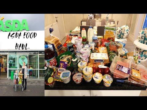 ASDA FOOD SHOP HAUL. SLIMMING WORLD/HEALTHY EATING