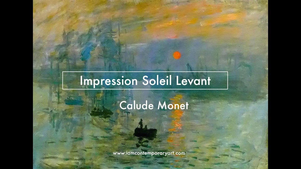Impression Soleil Levant