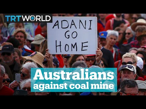 Australians Protest Against Coal Mine